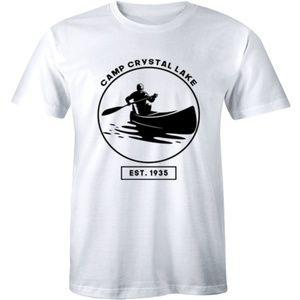 Camp Crystal Lake Est 1935 Jason Funny Men T-shirt